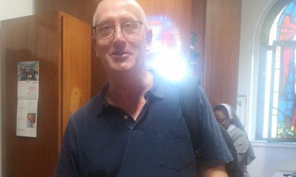 San Maurizio accoglie padre Daniele Bai