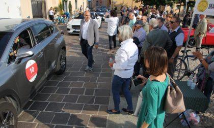 Tappa a Cernusco per la Mille Miglia green