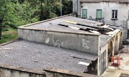Eternit deteriorato sul tetto della Velvis di Vaprio, cittadini preoccupati