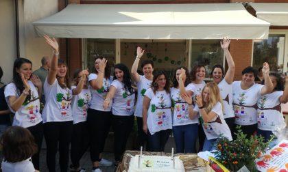 Gorgonzola l'asilo nido Cascinello Bianchi ha festeggiato dieci anni