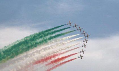 Frecce tricolori in cielo per l'Air Show Linate VIDEO