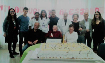 Compleanno del secolo per la centenaria Alessandrina