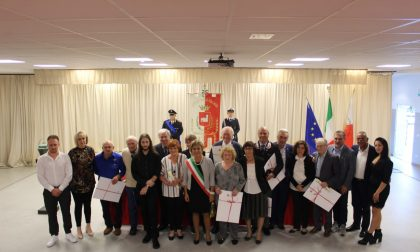 Situle, Trezzo celebra i cittadini meritevoli FOTO