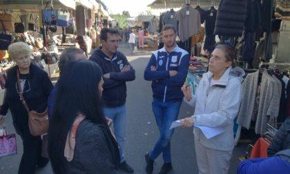 A Cassina uno degli ultimi mercati prima dello spostamento delle bancarelle