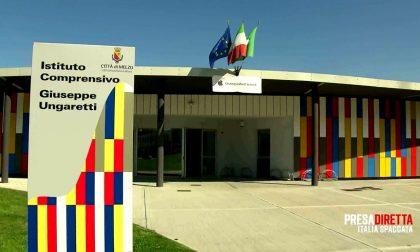 La scuola Ungaretti di Melzo in tv a PresaDiretta