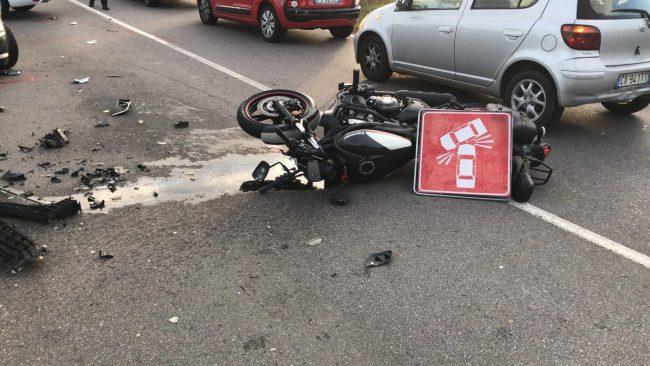 Grave incidente a Pozzuolo, la Sp103 riapre alle 10