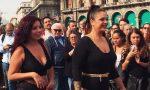 Ha vinto i pregiudizi e sfila in intimo in piazza Duomo VIDEO