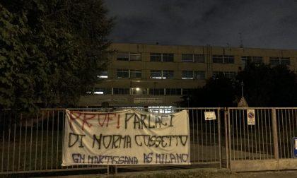 Striscione per Norma Cossetto a Cologno