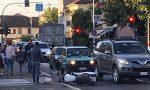 Incidente a Fara, ferito motociclista