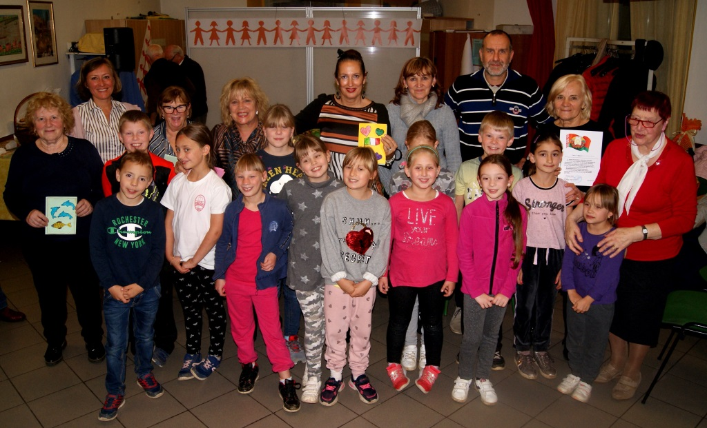 Trezzo ha salutato i bambini bielorussi