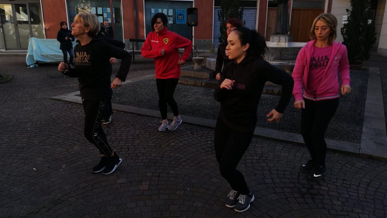 flash mob contro la violenza