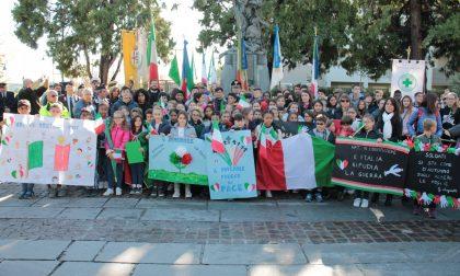 4 novembre gli studenti tengono vivo il senso della Patria