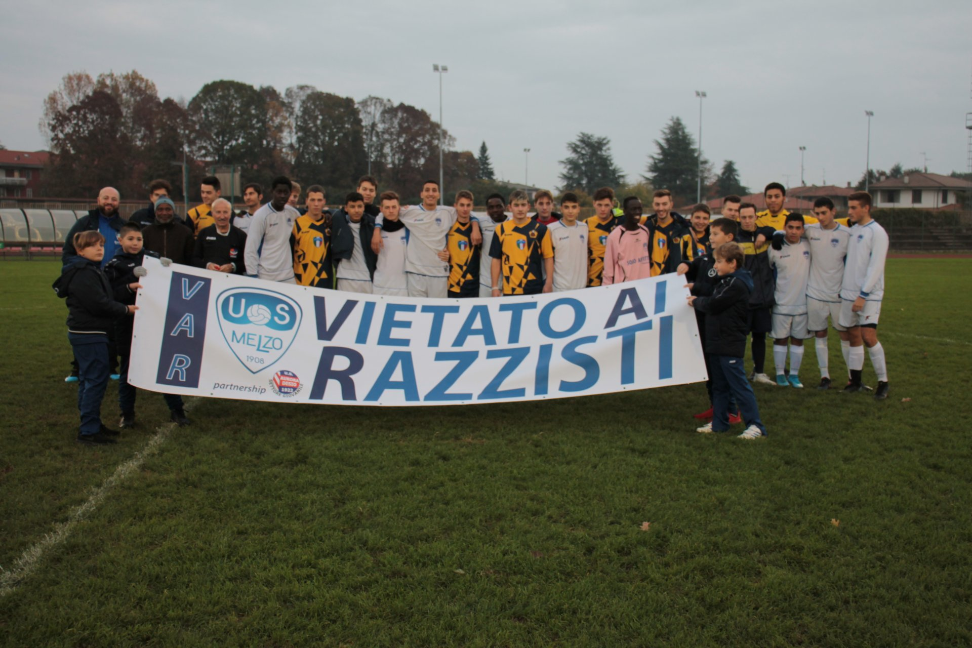 Partita antirazzista a Melzo FOTO E VIDEO - La Martesana