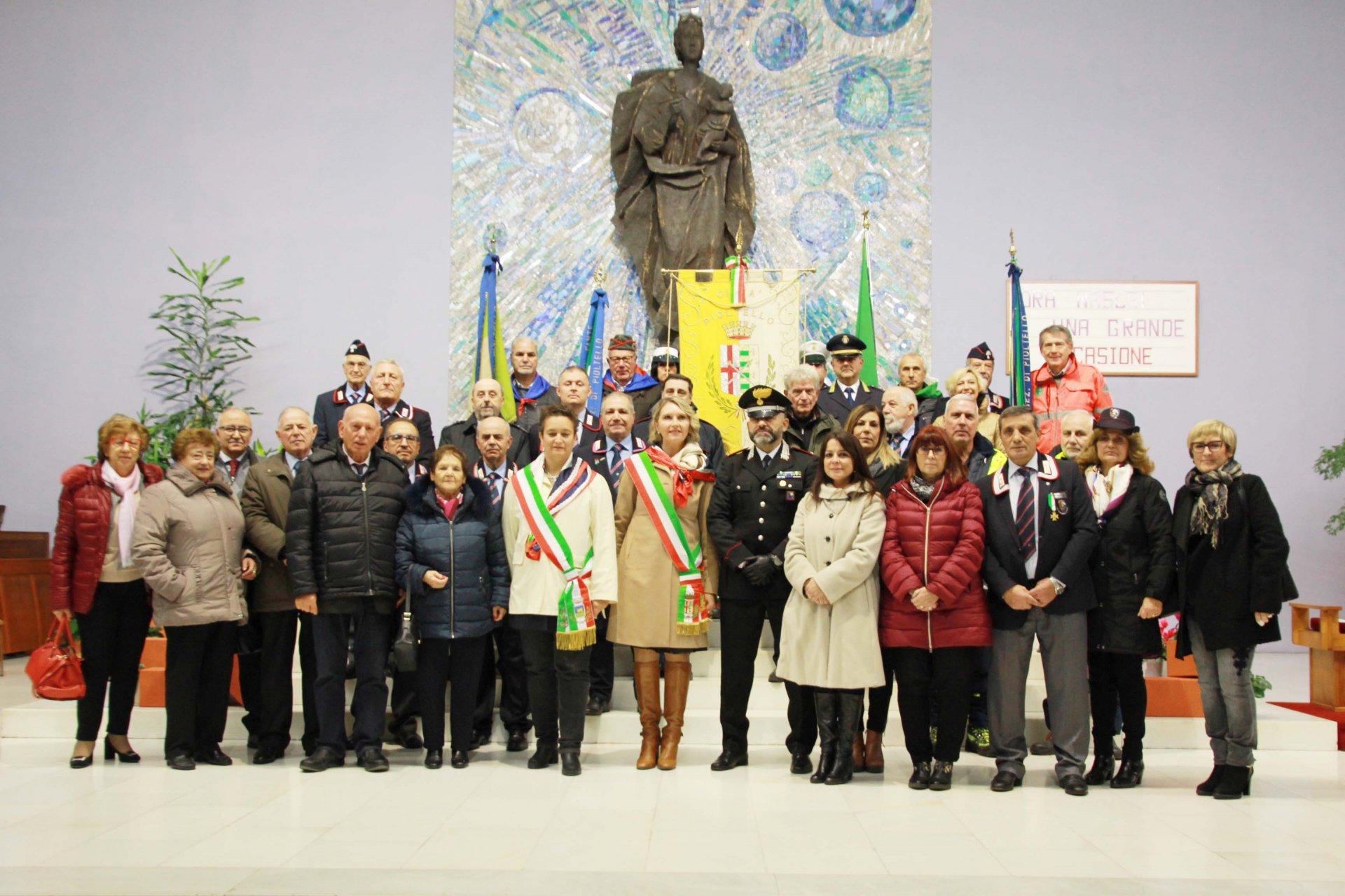 Virgo fidelis in 110 per la festa dei carabinieri a Pioltello - La Martesana