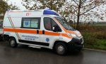 Stradino investito, ambulanza sulla Sp180