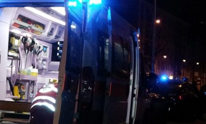 Rissa, aggressione e incidente in bici SIRENE DI NOTTE