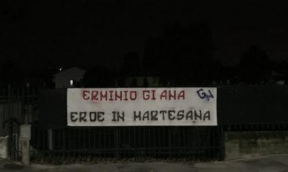 Erminio Giana, cartello di Gioventù nazionale