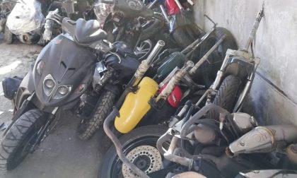 Ritrovate in un capannone, al via la restituzione delle moto a Gessate