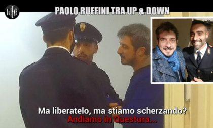 Ex vigile di Carugate nello scherzo delle Iene a Paolo Ruffini
