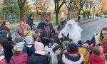 Santa Lucia con l'asinello arriva alle scuole di Canonica ed è festa! FOTO