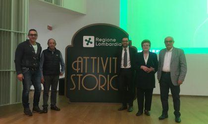 Premiati in Regione i primi due negozi storici di Cernusco