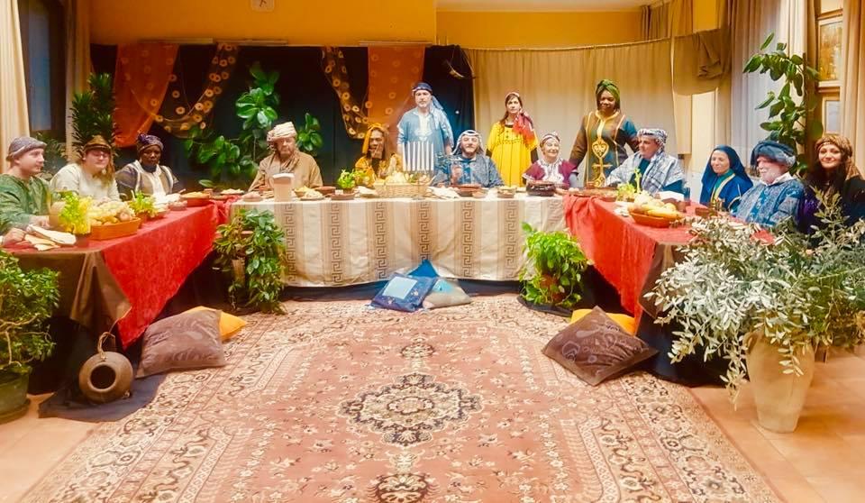 sacra rappresentazione e cena ebraica a cassina de pecchi