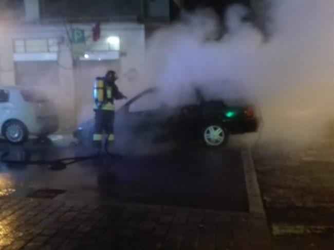 incendio pioltello auto Gpl
