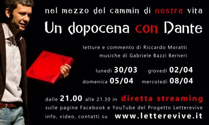 Nel Dantedì la Divina Commedia è IN DIRETTA con Letterevive