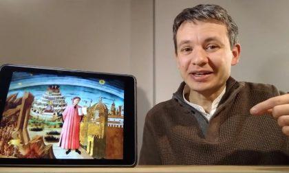 """La Selva oscura di """"Un dopocena con Dante"""" guarda il VIDEO"""