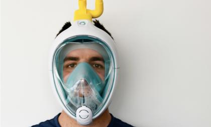 Coronavirus, maschera da snorkeling si trasforma in dispositivo respiratorio di emergenza