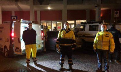 Sanificazione delle strade a Cassina de' Pecchi, pagata dai privati