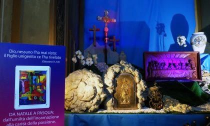Settala, in parrocchia c'è il presepe… di Pasqua