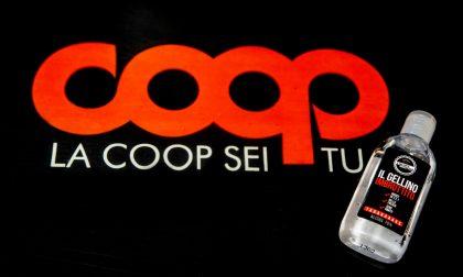 Coop Lombardia: arriva il gel mani 'zero sbatti'