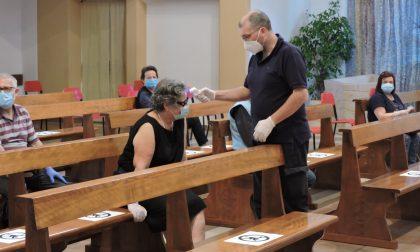Ricominciano le Messe, tra attesa e misurazione della febbre FOTO VIDEO