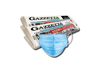Fase 2:  questa settimana una mascherina in regalo insieme alla Gazzetta