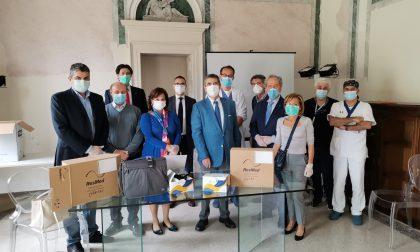 Il Rotary club riempie la Martesana di materiale sanitario