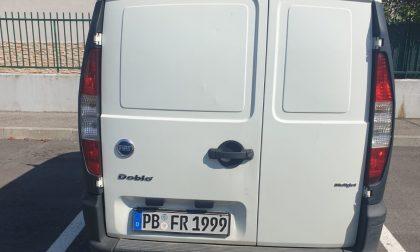 Cambiago, rinvenuto furgone rubato
