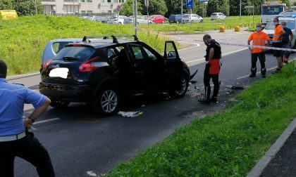Incidente stradale al confine tra Brugherio e Agrate: morta una 84enne FOTO VIDEO
