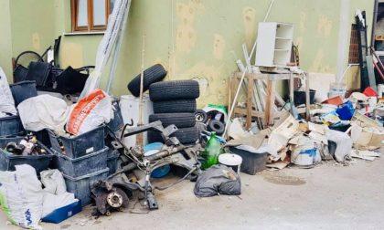 Officina abusiva scoperta dalla Polizia Locale: maxi multa e sequestro FOTO