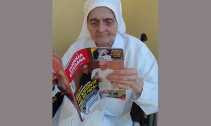 """Suor Ambrogia a 101 anni ha sconfitto il Covid: """"La vita ha vinto"""""""