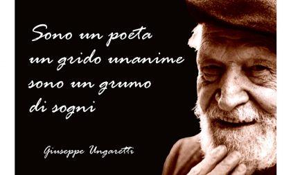 Dal Teatro Cristallo primo appuntamento con la poesia di Ungaretti IN DIRETTA