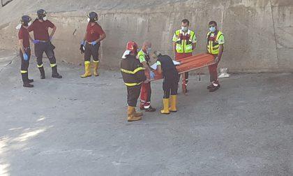 Fara, cadavere riaffiora dall'Adda Foto
