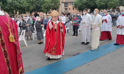 """L'arcivescovo Delpini a Cernusco: """"La sua comunità d'origine sia un'oasi per il nuovo vescovo"""" FOTO E VIDEO"""