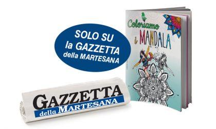 Coloriamo i MANDALA, domani in omaggio con la Gazzetta della Martesana