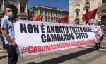 Protesta contro la sanità lombarda per la gestione dell'emergenza Covid