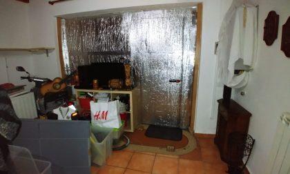 Box trasformato in casa a Inzago FOTO