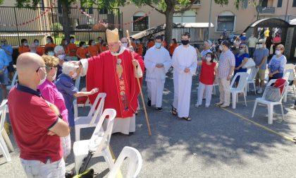 Cernusco in festa accoglie il nuovo vescovo don Luca Raimondi FOTO E VIDEO