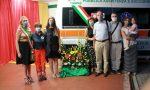 Un'ambulanza in memoria del volontario Paolo FOTO