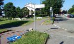 Raid vandalico in via Trento a Cassina de' Pecchi FOTO