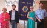 Il Lions club Cassano celebra due nuovi soci alla presenza del neo governatore